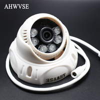 New HD 960P POE Mini IP Camera 1280 720P IR Dome Network Camera Indoor With POE