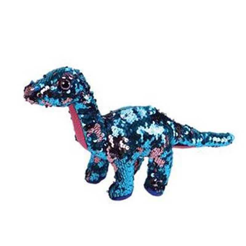Ty Sequins Flippables 15cm Tremor The Dinosaur Sequin Plush Regular Stuffed Animal Collection Soft Big Eyes Doll Toy | Dolls & Stuffed Toys