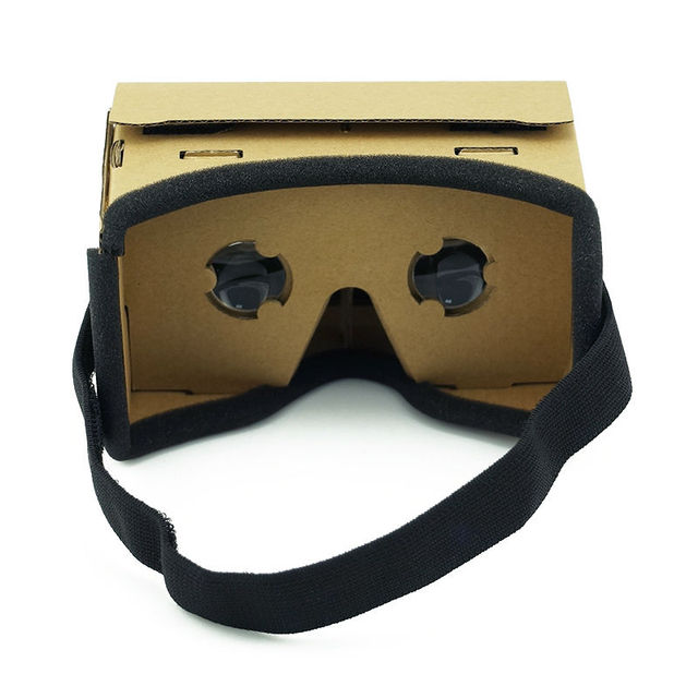 DIY Ultra Clear Google Cardboard VR BOX 2.0 Virtual Reality 3D Glasses for iPhone SmartPhone computer gafas xiaomi mi vr headset 2