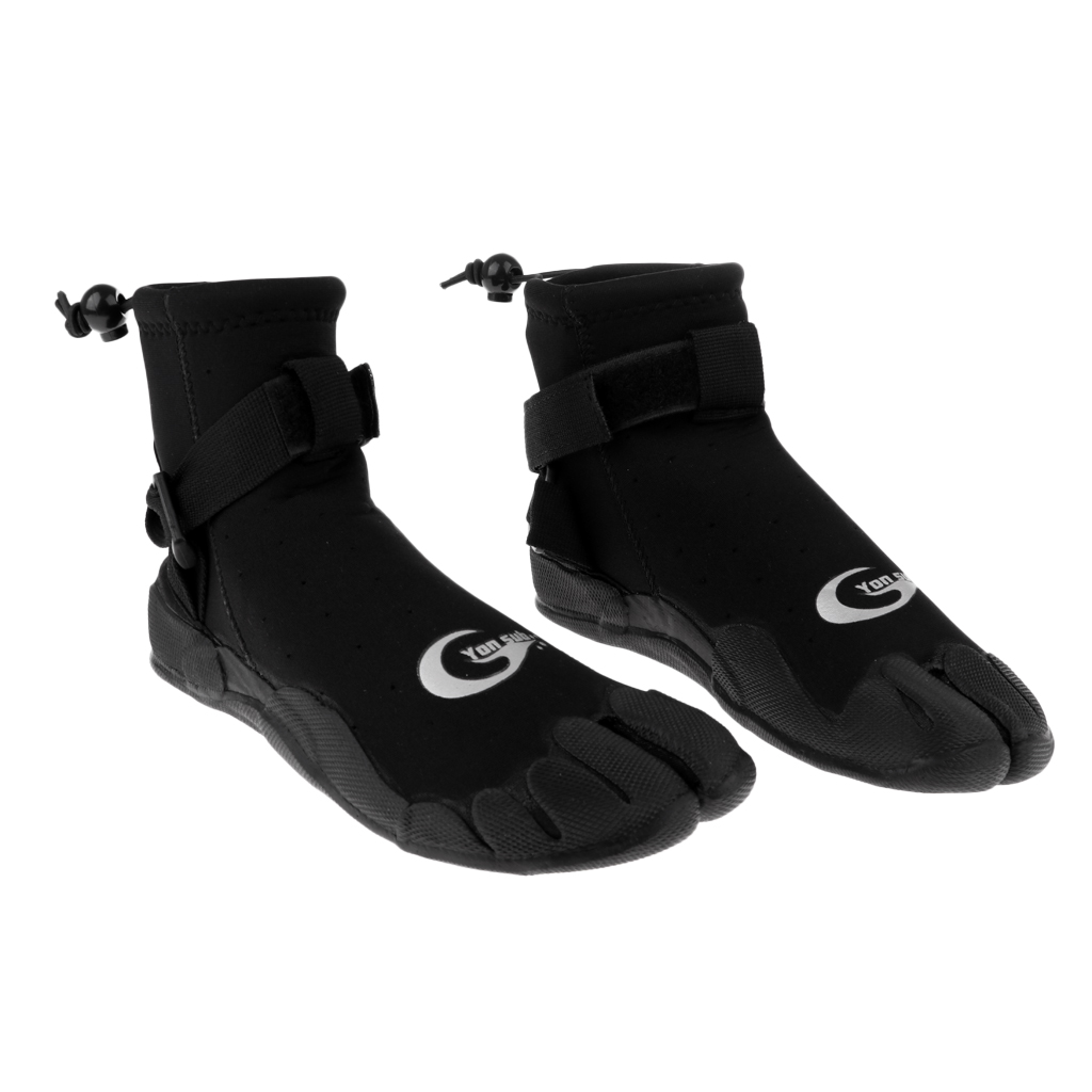 Neoprene Diving Surfing Kayak Wetsuit Socks Boots Booties Shoes US 5 6 8 9 for Swimming