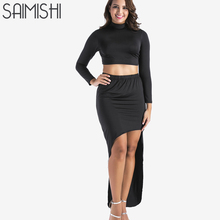 3a4b7fe8a419d Women Plus Size Two Piece Outfits Club Outfit Promotion-Shop for ...