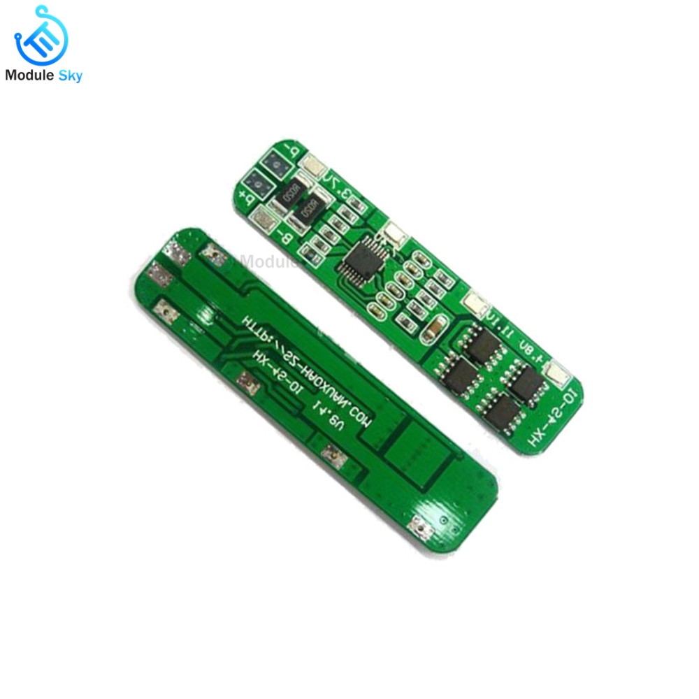 Bms 4S 18650 Li-ion Lithium Batteries Protection Board 6A 18650 PCM Charger Protect Balancer Module For Li-ion Lipo Equalizer