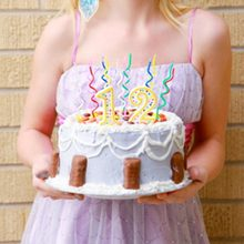 2set=16pcs Long curve cake candles mix color birthday candle wedding birthday party supplies 15 * 0.5 * 0.3cm