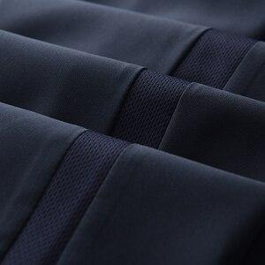 Image 3 - Minglu Sommer Herren Hosen Luxus Business Mode Elastische Herren Anzug Hosen Hight Qualität Elastische Bund Dünnen männer Hosen