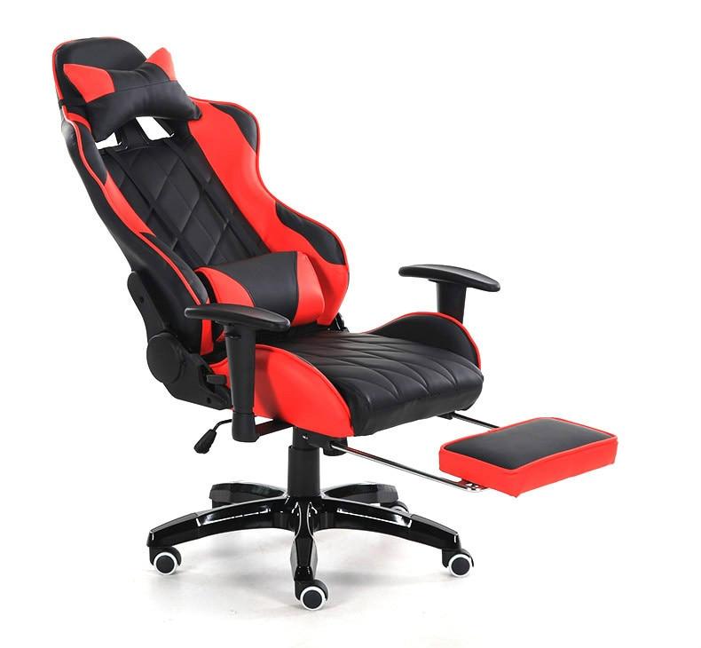 Reclining Swivel Gaming Computer Chair Ergonomic Lying