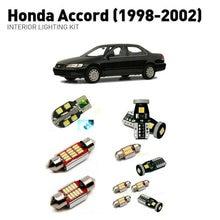Led interior lights For Honda accord 1998-2002  12pc Lights Cars lighting kit automotive bulbs Canbus