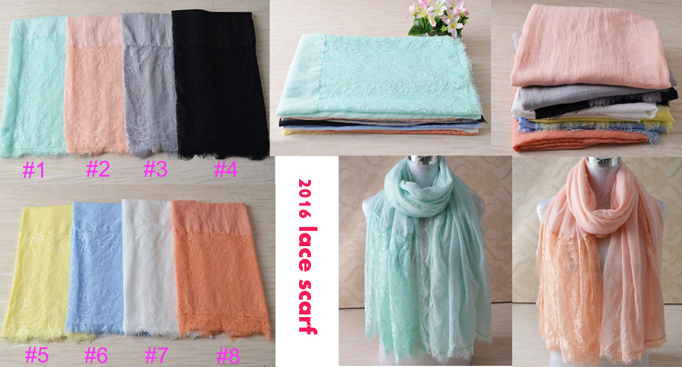 Hijabs 2016 fashions,cotton lace scarf,plain hijab,Muslim hijab,bandana,shawls and scarves,Muslim muffler,wrap,cotton shaw,cape