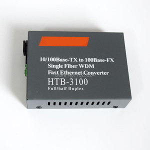 Image 3 - Convertidor de medios de fibra óptica, 1 par, 10/100Mbps, 1 CH * SC 8 CH * RJ45, convertidor Netlink 1 CH * SC 1 CH * RJ45, transceptor de fibra óptica