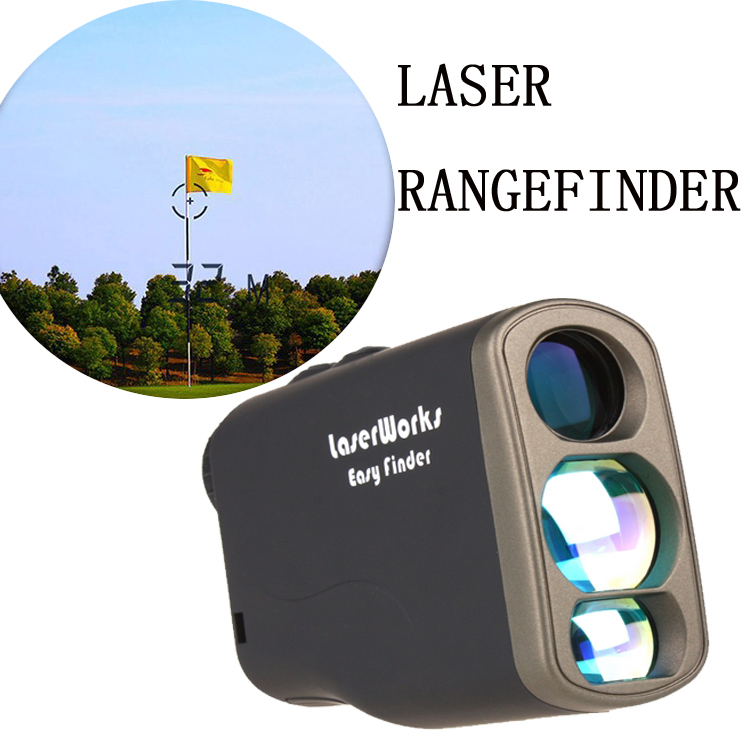 1000m 6X21 handheld laser font b rangefinder b font golf range finder speed detector distance meter