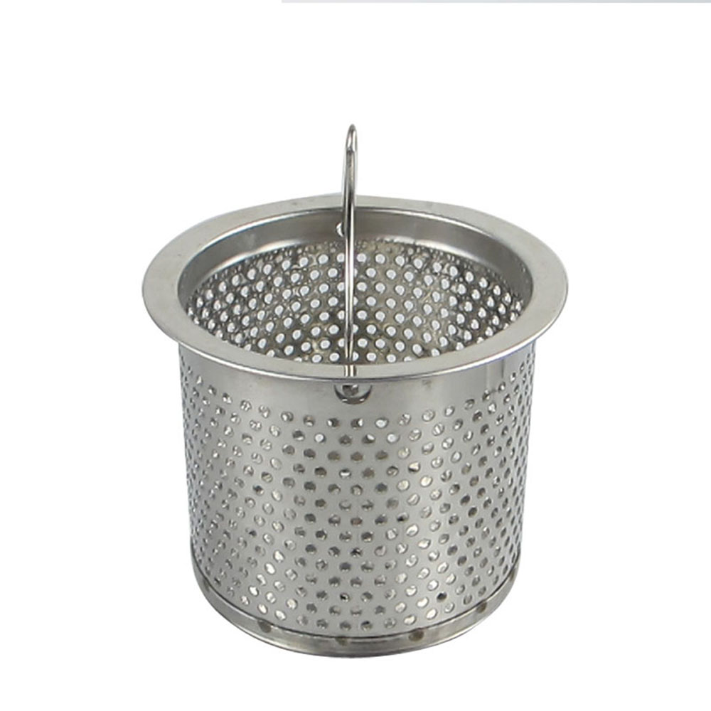 Talea 7.7cm Stainless Steel Kitchen Sink Strainer Waste Plug Drain Stopper Filter Basket