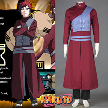 hot anime Naruto cosplay costume Halloween costumes for men adult Gaara Cosplay outfit Gaara costume
