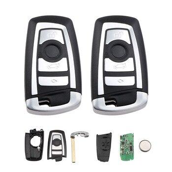 4 кнопки умный дистанционный ключ Fob для BMW 3 5 7 серии CAS4 CAS4 + Система 315 МГц 433 МГц 868 МГц PCF7935 ID44 чип Uncut Blade >> AvantDigital Store