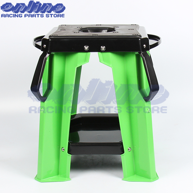 Motorcycle Repair Lift Stand Stool Seat For KTM Honda Yamaha Suzuki Kawasaki MX