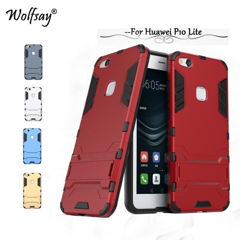 Pro Huawei P10 Lite Pouzdro pro Huawei P10 Lite Pouzdro pro nárazuvzdorné brnění, Zadní Pouzdro pro Huawei Nova Lite <