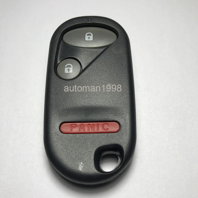 Replacement Keyless Entry Remote Key For Honda Civic 2001 2005 Nhvwb1u523 521 433mmhz