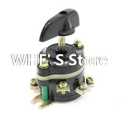 HZ10 Series 4 Positions Changeover Combination Switch 380V 10A DPDT electric hz10 series 2 pitch combination switch 60a