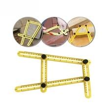 Все углы многоугольная линейка шаблон инструмент измеряет все углы формы для измерения наружные инструменты гибкий простой инструмент