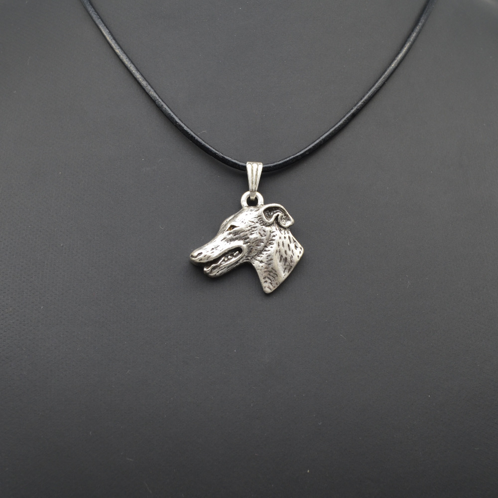 wholesale personalized grey hound pendant necklace women