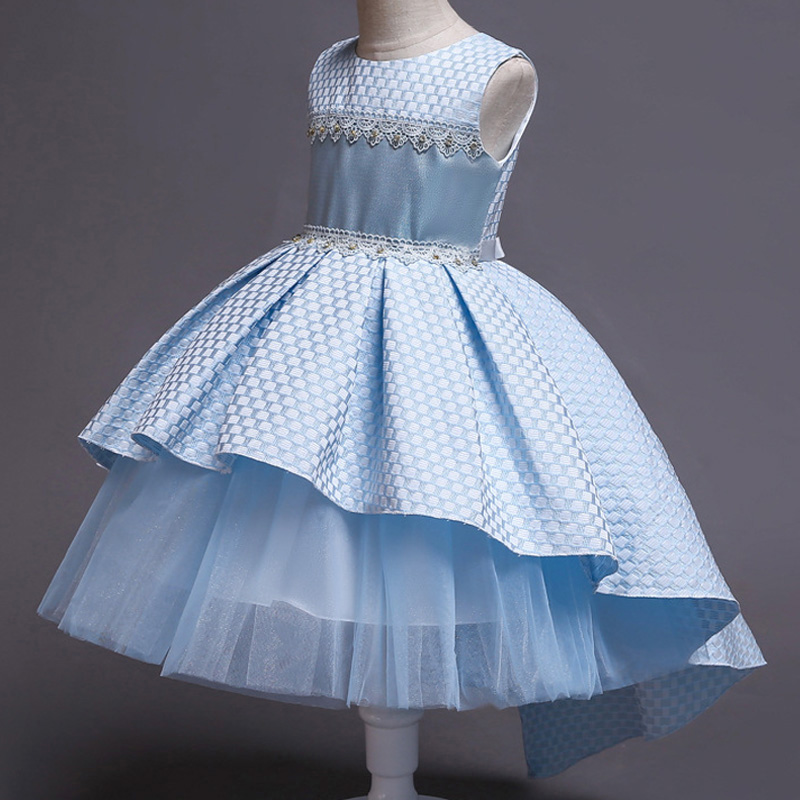 Flower     Girls     Dresses   For   Girls   Elegant Princess   Dress   Children Wedding Gown Kids   Dresses   For   Girls   Party   Dress   vestido infantil