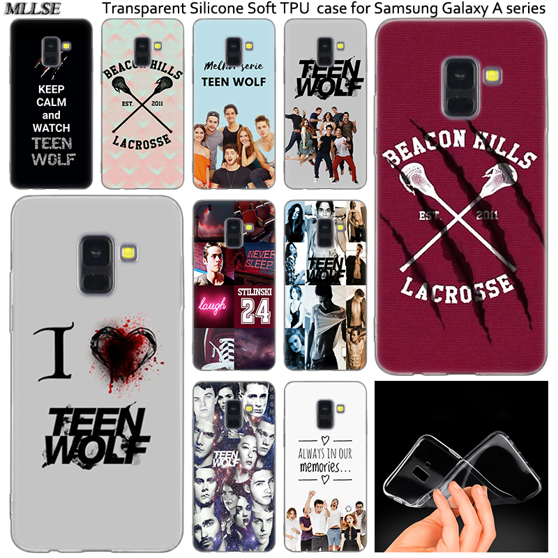 Hot Awesome Teen Wolf <font><b>Silicone</b></font> <font><b>Case</b></font> For <font><b>Samsung</b></font> Galaxy A50 A30 A10 A40 A6 A8 Plus A20 E <font><b>A5</b></font> A7 2018 2017 <font><b>2016</b></font> Note 9 8 Cover image