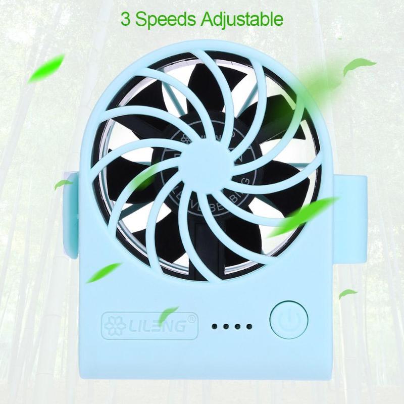 Adjustable Portable Detachable Flexible USB Mini Cooling Fan Cooler For Travel X