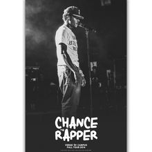 8e5bea63b6df3 Chance the Rapper Chancelor Rap Music-Silk Art Poster Wall Sicker  Decoration Gift(China