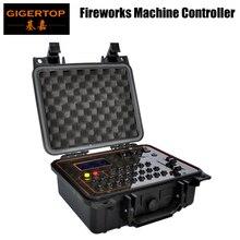Gigertop TP-D29 Профессиональный Машина фейерверков Управление Лер аккумуляторная литий-Батарея 1000MHA Поддержка DMX/Беспроводной Управление USB светодио дный