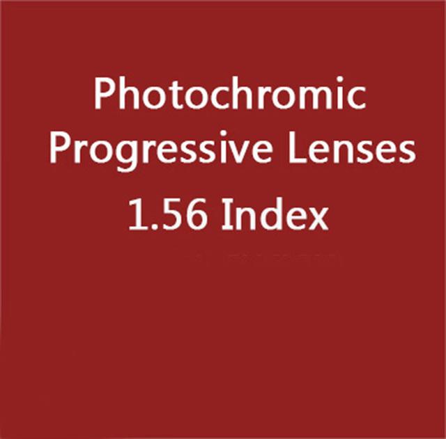 1.56 índice asp HMC photochromic interior de alta qualidade lentes progressivas lentes progressivas lentes de leitura digital de forma livre