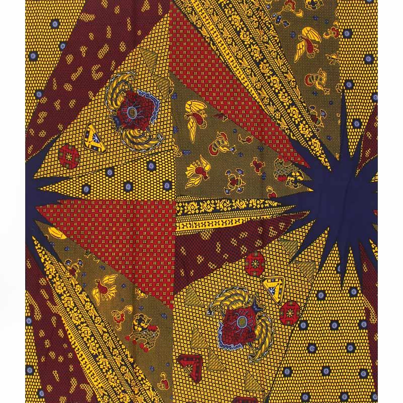 Hot koop afrikaanse stof afrikaanse wax prints stof tissus wax stoffen voor patchwork 12 yards 100% katoen ankara stof BB88-in Stof van Huis & Tuin op  Groep 2