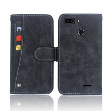 Hot! Fly Power Plus 2 FS526 Case High quality flip leather phone bag cover case with Front slide card slot смартфон fly fs526 power plus 2 black