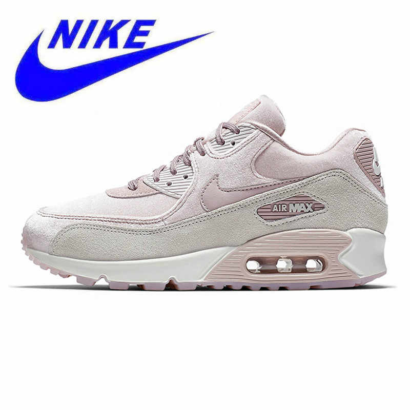 official photos e5ca4 3d69d Non-slip Breathable NIKE AIR MAX 90 LX Women s Running Shoes, Pink, Shock