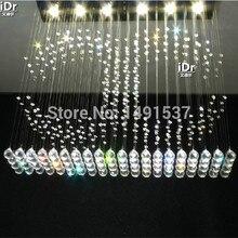 Новый топ продаж дизайн моды Спальня лампа Зал современная хрустальная люстра кристаллический светильник для гостиной