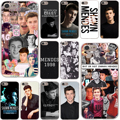 Shawn mendes magcon hard case transparente para iphone 7 7 plus 6 6 s más 5 5S sí 5c 4 4S