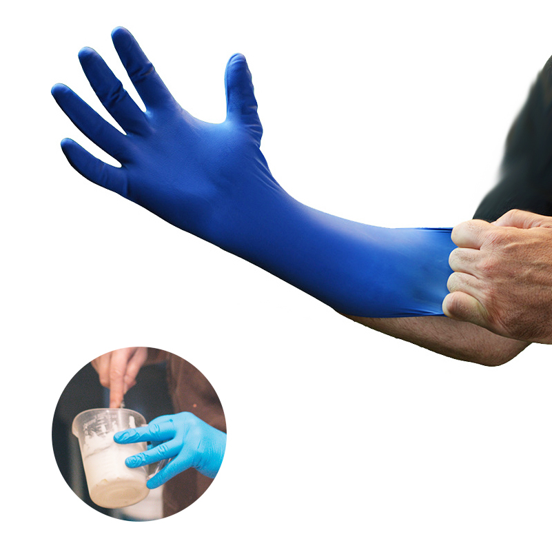 200pcs Nitrile Glove Disposable Colored Medical Grade Exam Nitrile Glove For Examination FDA Food Disposable Working Gloves