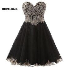 Real Photos Designer Cocktail Dresses Girls Short Evening Party Dress vestido de festa curto DGC012