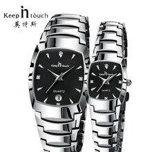 KEEP IN TOUCH Luxury Brand Dress Women Men Watches Quartz Co