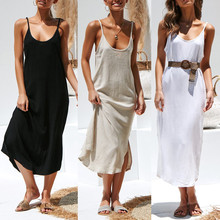 0ea613d01663 Casual Spring Summer Fashion 2019 dress Women Striped Ankle-length Chiffon  Empire Lace-Up