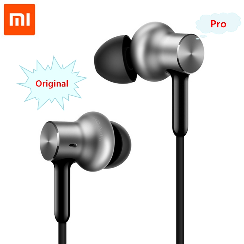 Original Xiaomi Hybrid Pro HD Earphone Circle Iron Wired Xiaomi Earset Noise Cancelling Xiaomi Mi In-Ear Earphone Pro HD 100% original xiaomi hybrid pro hd earphone with mic in ear hifi noise canceling headset circle iron mixed for xiaomi note4 mi 6