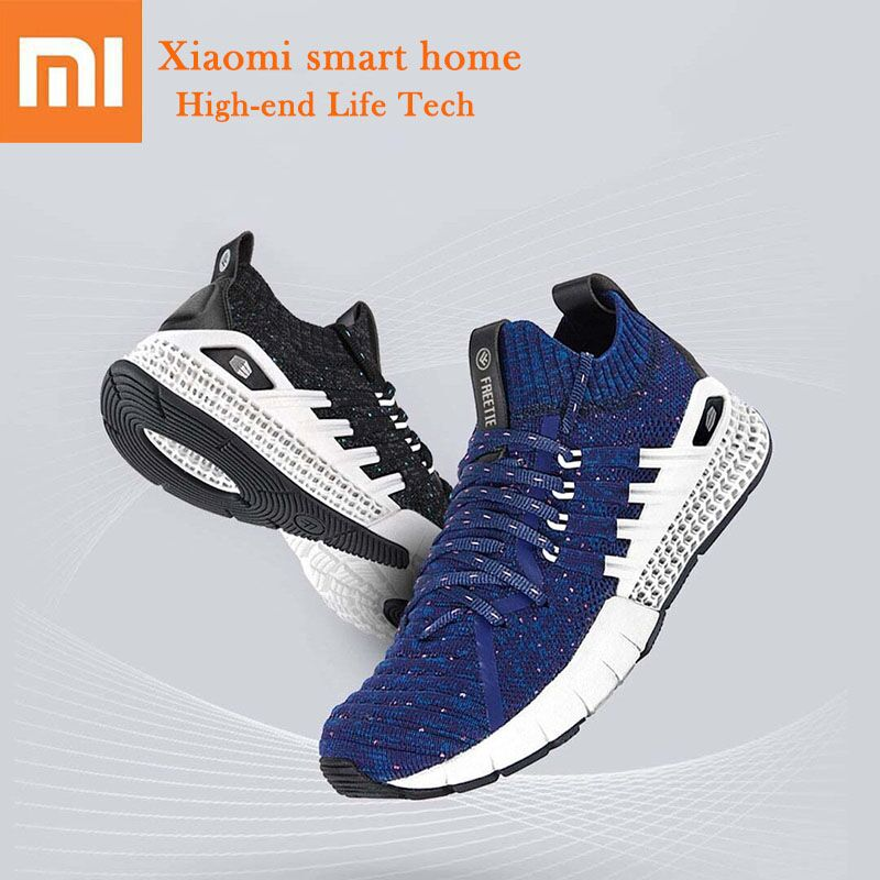 3 colors Xiaomi FREETIE 3D Technology Sports Shoes Knitting Hollow Design Highly Elastic Comfortable Non slip