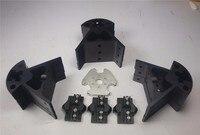 Reprap Delta Kossel all metal effector+carriage+ Bottom vertex+Top vertex+End kit for DIY 3D printer