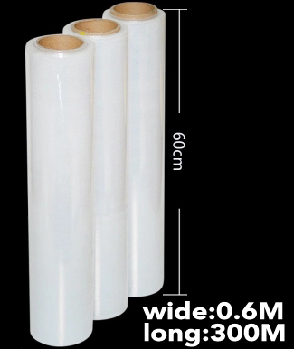 18ff45cab7c 0.6m(wide)Transparent plastic film Plastic stretch wrap Clear Roll Packing Plastic  Film Paper Goods Packaging Craft Wrapping-in Gift Bags   Wrapping ...