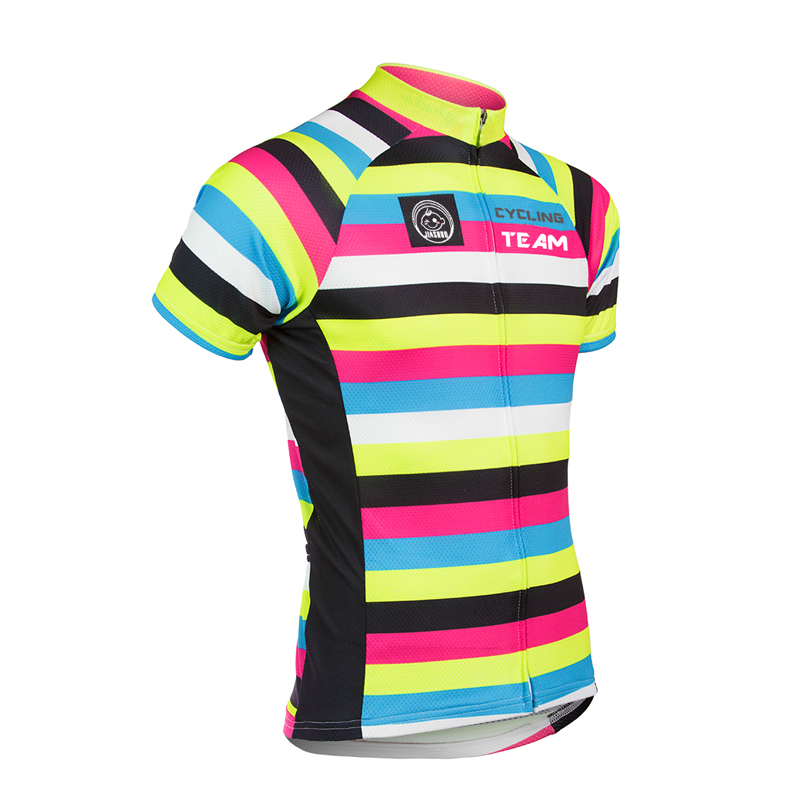 Prix pour NOUVEAU VÉLO cycling team Quick Dry vêtements de cyclisme homme D'été Couleur bar vélo porter Respirant