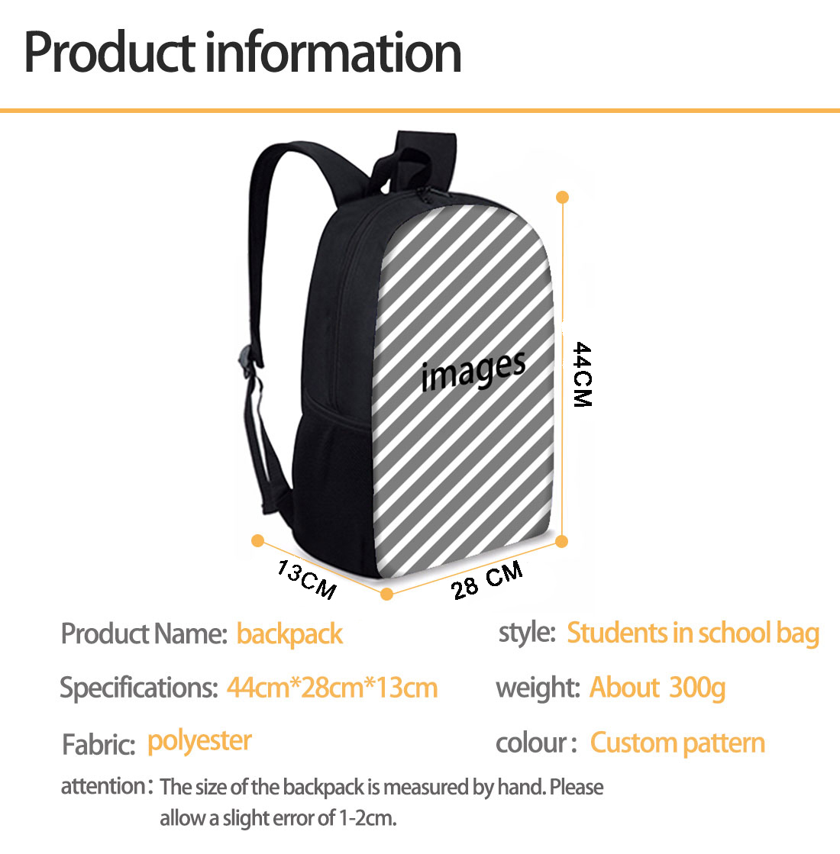 ELVISWORDS учащегося начальной школы, школьные сумки карта печать детей и подростков школьный детская книга мешок Для женщин Путешествия Повсед...