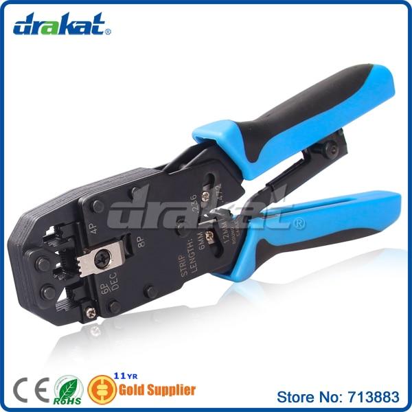 Cat5e Lan Cable Crimper RJ11 RJ12 RJ45 connector