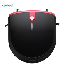 Seebest E630 MOMO 4.0 Auto Recharge Super Slim Robot Cleaner 6.3cm Height with 2 Side Brush and Vacuum, Russia Warehouse