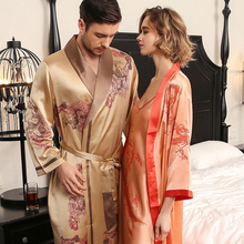22 Mumi Heavy Real Silk Nightgowns Female Sling Nightdress Couple Sleeping Robes High Quality 100% Bathrobes Male S5614QL
