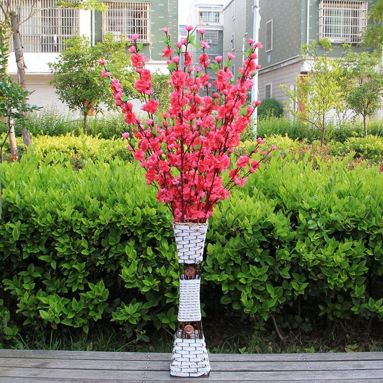 Lule mëndafshi të reja të bukurosheve Degë artificiale bukuroshe - Furnizimet e partisë - Foto 3