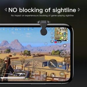 Image 5 - Baseus Gamepad Joystick Voor Pubg Gaming Trigger Smart Fire Knop Doel Trigger Key L1R1 Shooter Controller Voor Mobiele Telefoon Game