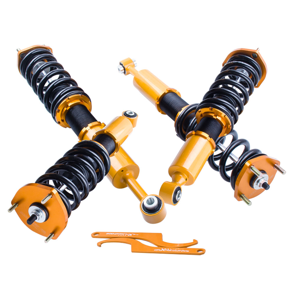 Spring Struts Coilovers Shock Absorber For Lexus IS300 Adj Height 2001 2002 2003 2004 2005 Suspension Shocks Absorbers Damper