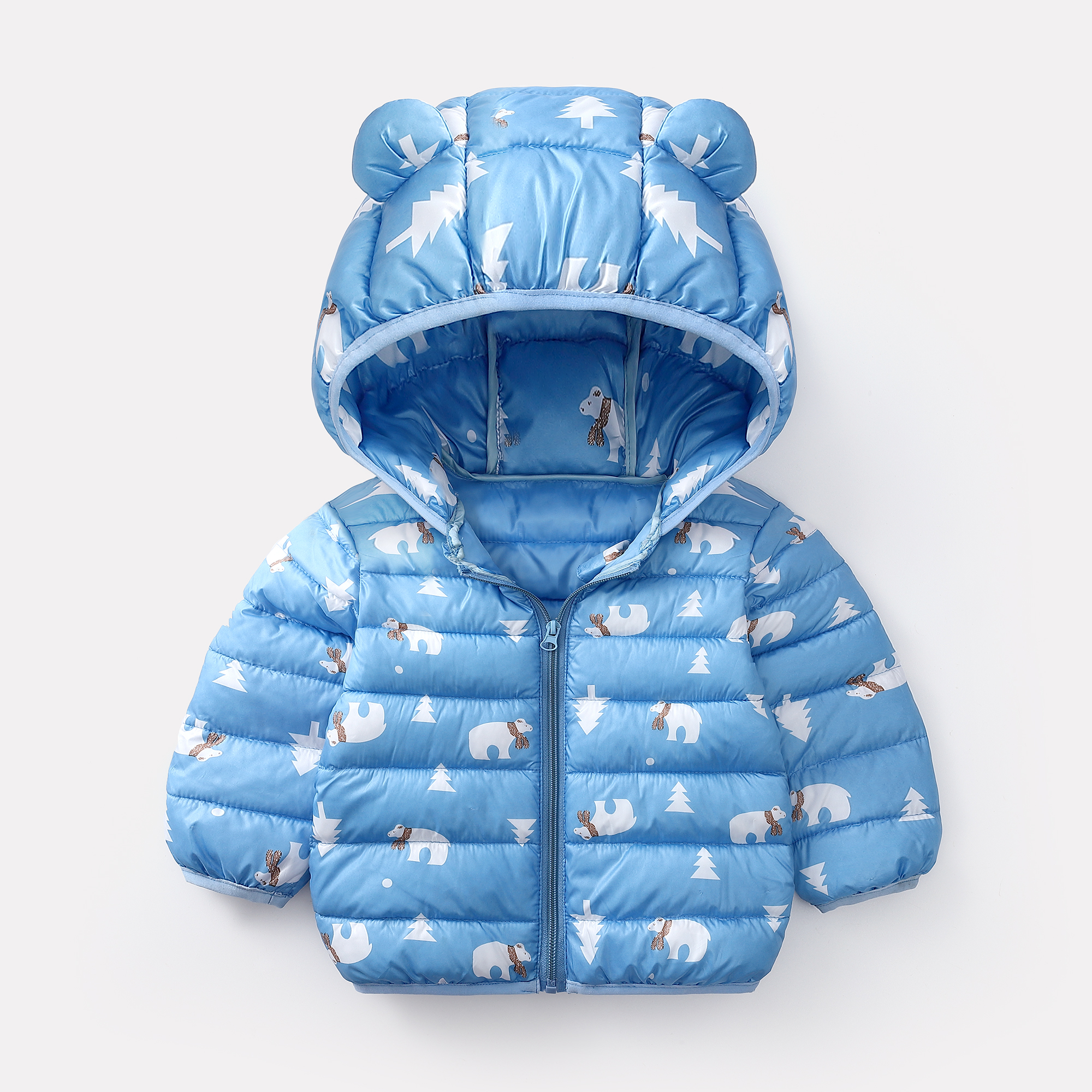 New Baby Winter Coats Down Cotton Coat Jacket kids Baby Clothes Hooded infant Down Jacket For Boys And Girls(China)